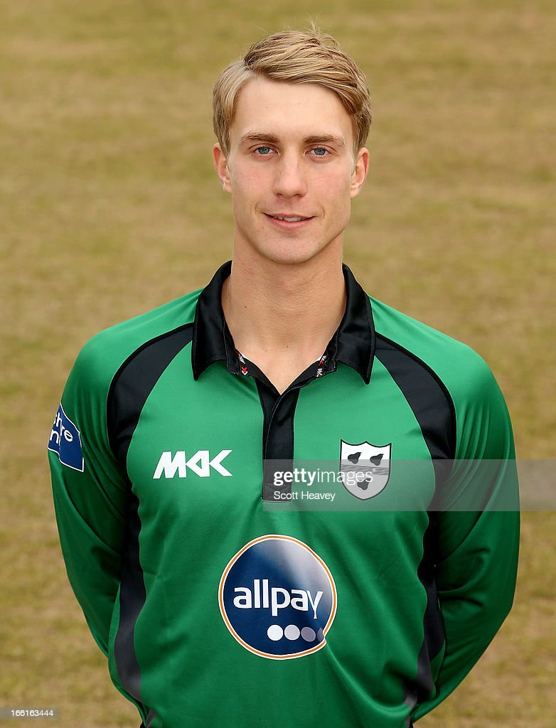 Matt Pardoe during a Photocall for Worcestershire County Cricket Club on April 9, 2013 in Worcester, England.