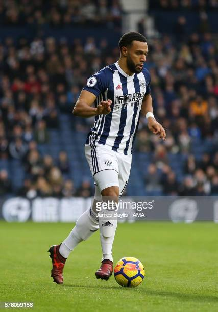 Matt Phillips of West Bromwich Albion during the Premier League match between West Bromwich Albion and Chelsea at The Hawthorns on November 18 2017...