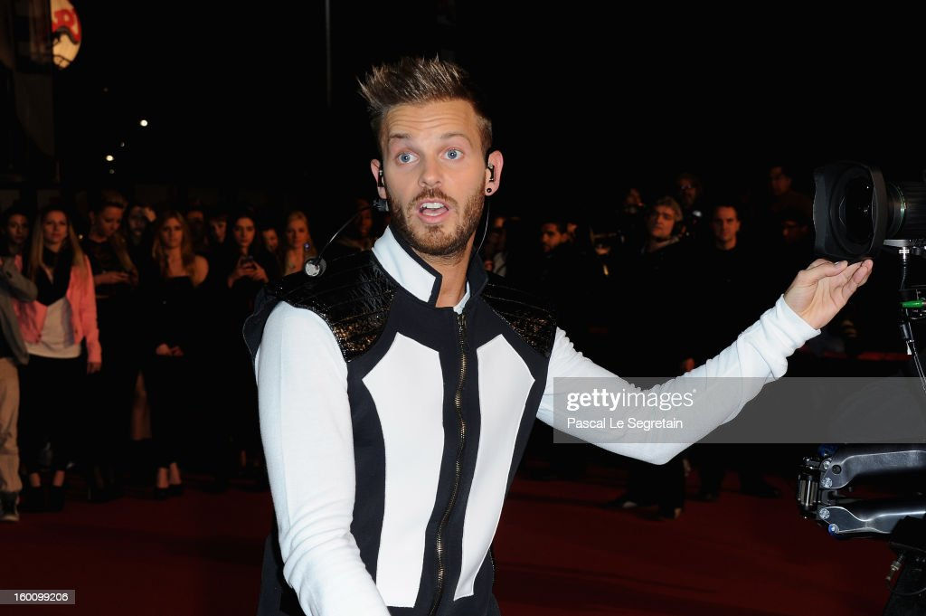 Matt Pokora attends the NRJ Music Awards 2013 at Palais des Festivals on January 26, 2013 in Cannes, France.