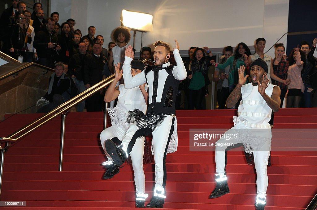 Matt Pokora attends the NRJ Music Awards 2013 at Palais des Festivals on January 26, 2013 in Cannes, France.