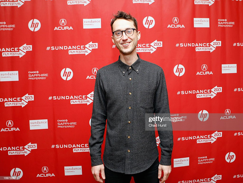 Matt Porterfield attends 'I Used To Be Darker' Premiere during the 2013 Sundance Film Festival at Yarrow Hotel Theater on January 19, 2013 in Park City, Utah.