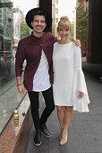 Matt Price and Jess Dunbar of Jess Matt pose after greeting fans on December 17 2015 in Sydney Australia
