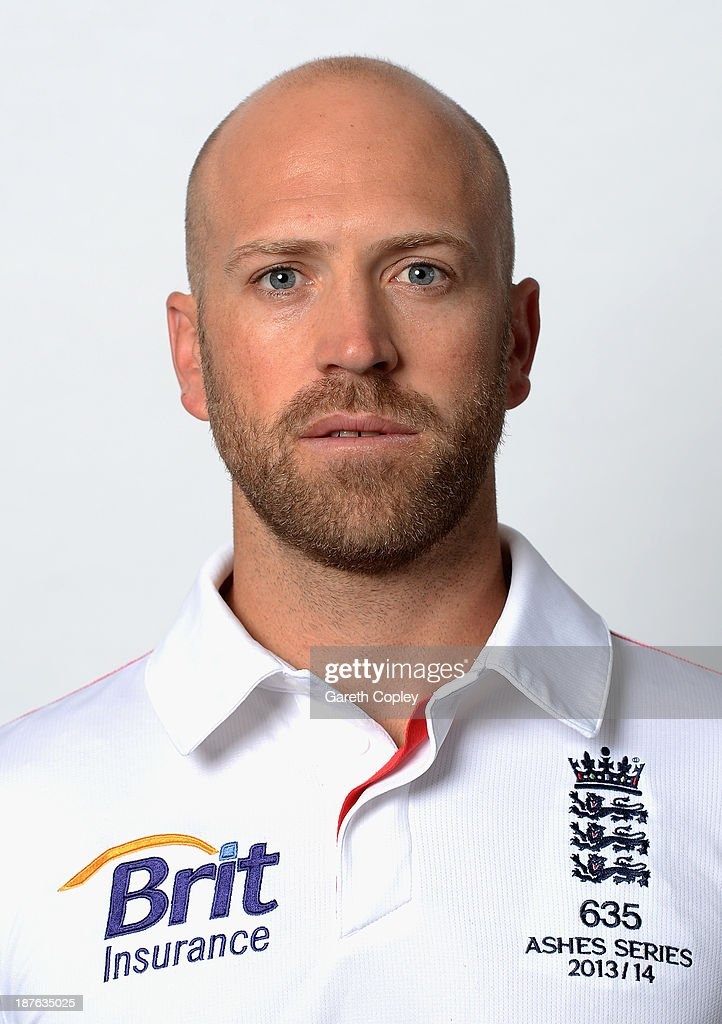 Matt Prior poses during an England cricket headshots session at the InterContinental Sydney on November 11, 2013 in Sydney, Australia.