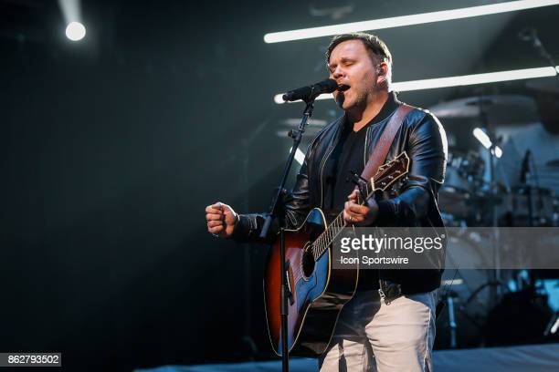 Matt Redman performs during the 48th Annual GMA Dove Awards in Allen Arena on October 17 2017 in Nashville TN