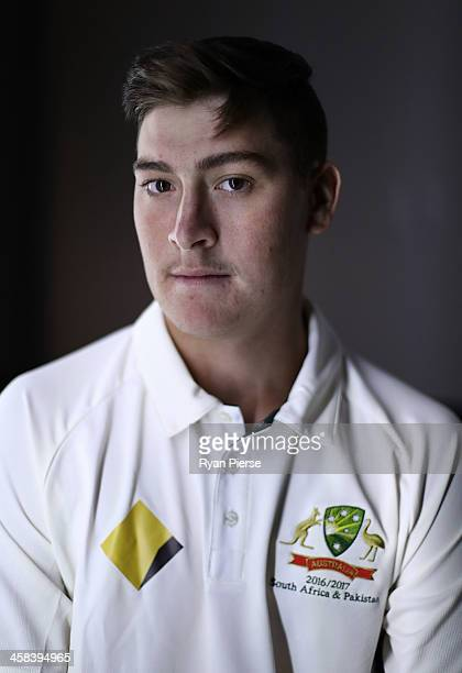 Matt Renshaw of Australia poses during a portrait session at Adelaide Oval on November 22 2016 in Adelaide Australia