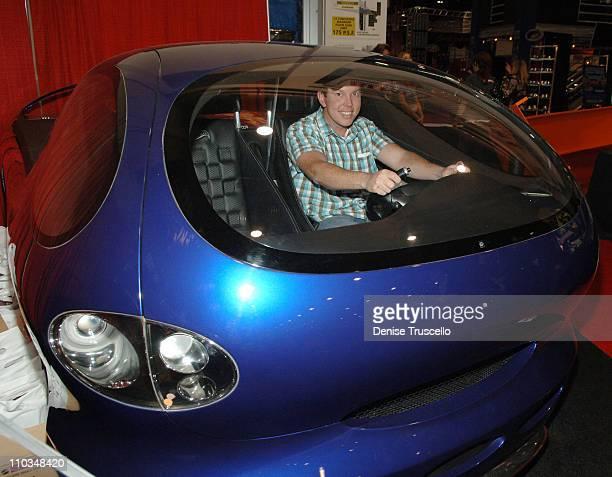 Matt Riley attends the Hot Wheels 40th Anniversary Kick Off at SEMA 2007 at The Las Vegas Convention Center on October 30 2007 in Las Vegas Nevada