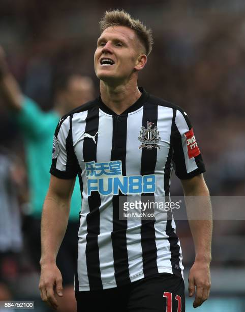 Matt Ritchie of Newcastle United is seen during the Premier League match between Newcastle United and Crystal Palace at St James Park on October 21...