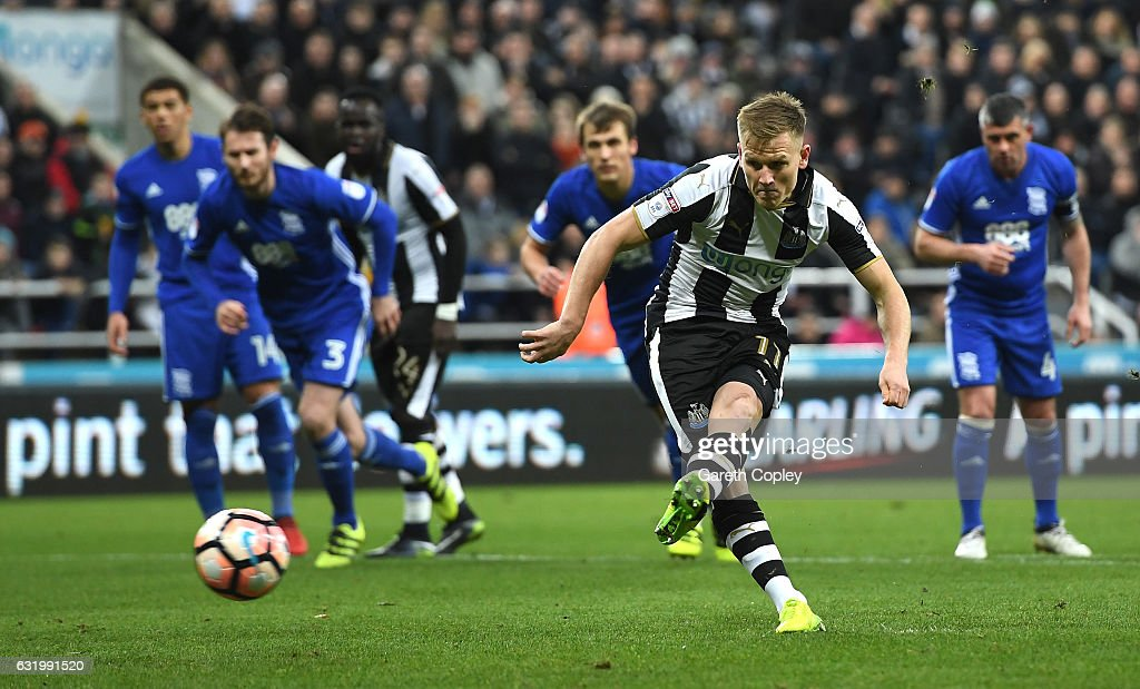 Newcastle United v Birmingham City - The Emirates FA Cup Third Round Replay