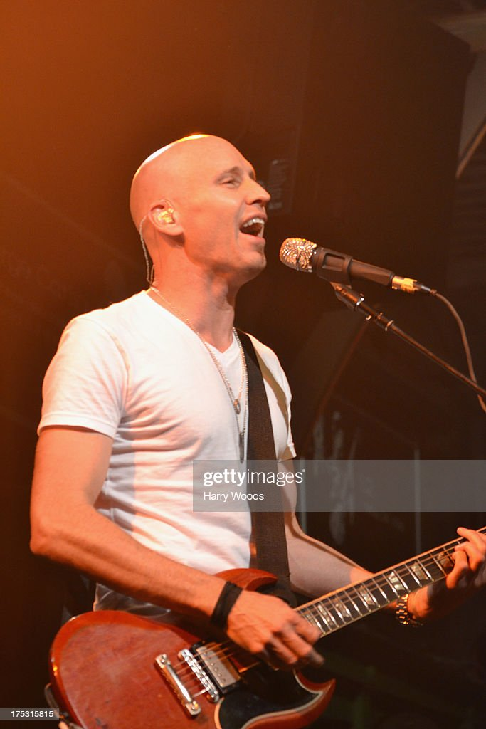Matt Scannell performs with Vertical Horizon during Bud Light Music First 50/50/1 on August 1, 2013 in Hampton, New Hampshire.