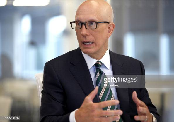 Matt Shay president and chief executive officer of the National Retail Federation speaks during an interview in Washington DC US on Wednesday Aug 21...