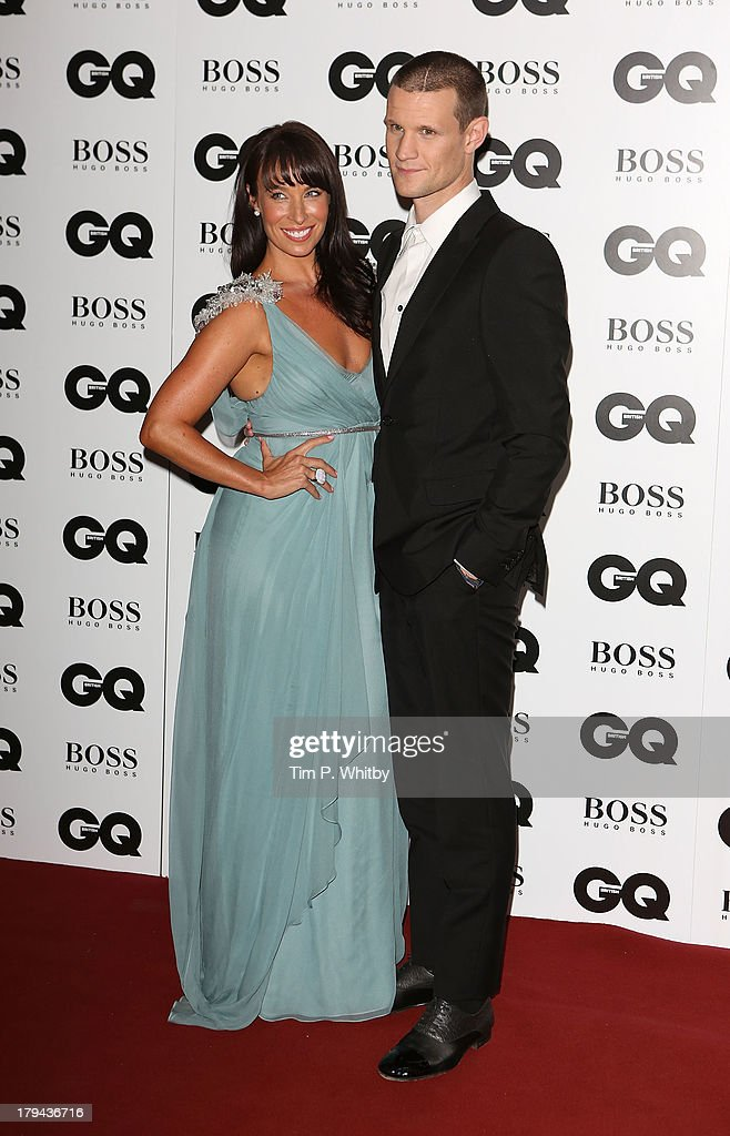 Matt Smith and guest attend the GQ Men of the Year awards at The Royal Opera House on September 3, 2013 in London, England.