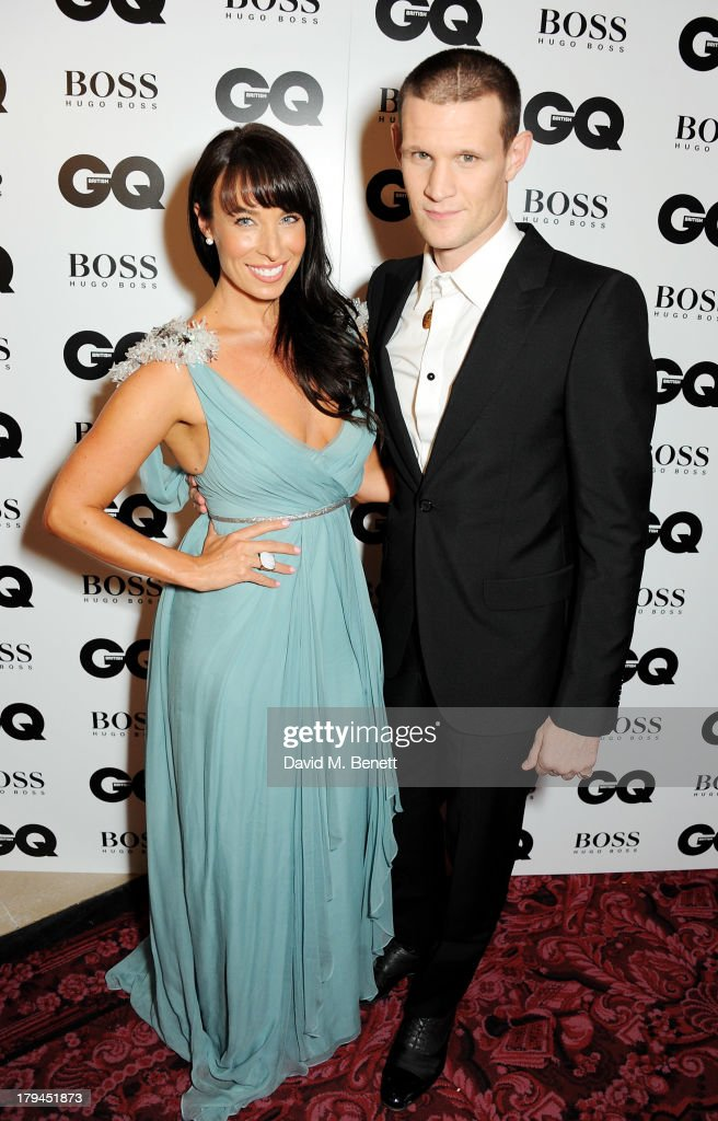 <a gi-track='captionPersonalityLinkClicked' href=/galleries/search?phrase=Matt+Smith+-+Actor&family=editorial&specificpeople=6877373 ng-click='$event.stopPropagation()'>Matt Smith</a> (R) and sister Laura Jayne Smith arrive at the GQ Men of the Year awards at The Royal Opera House on September 3, 2013 in London, England.