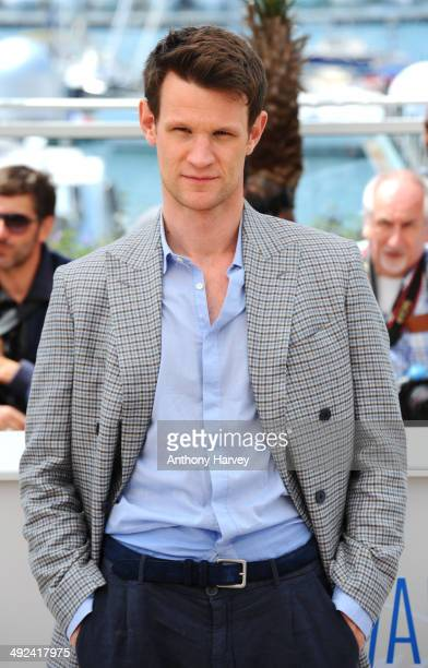 Matt Smith attends the 'Lost River' photocall at the 67th Annual Cannes Film Festival on May 20 2014 in Cannes France