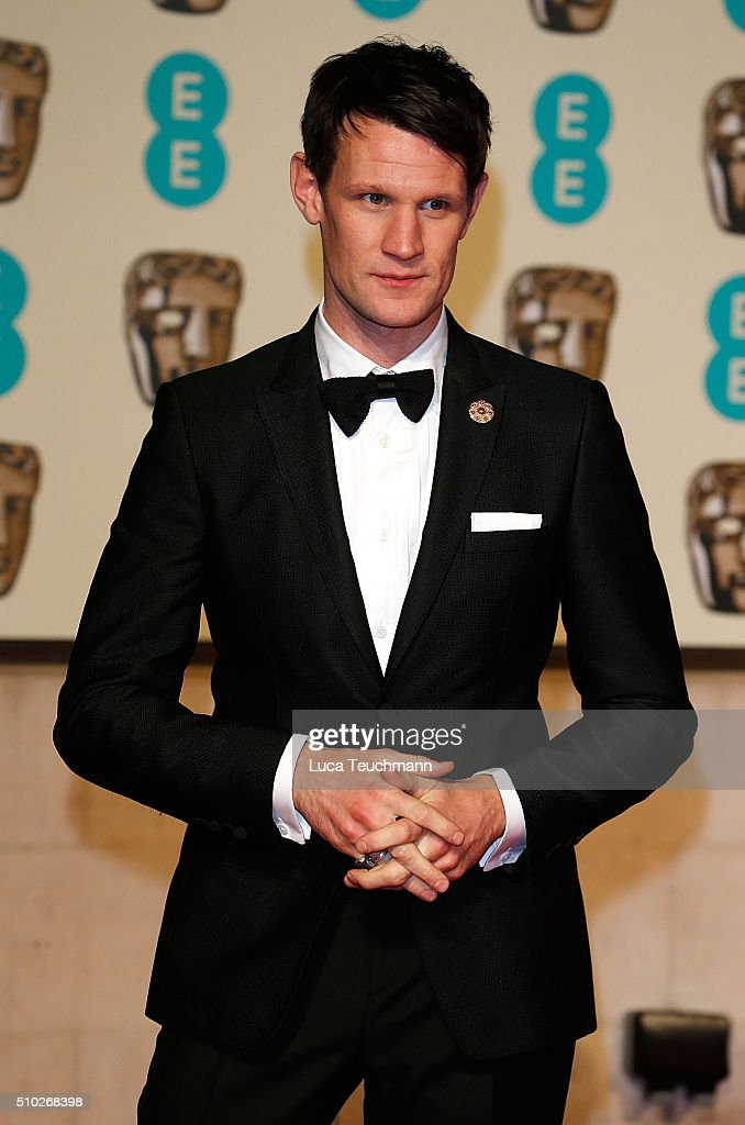 Matt Smith attends the official After Party Dinner for the EE British Academy Film Awards at The Grosvenor House Hotel on February 14, 2016 in London, England.