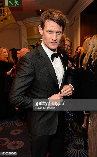 Matt Smith attends the official After Party Dinner for the EE British Academy Film Awards at The Grosvenor House Hotel on February 14 2016 in London...