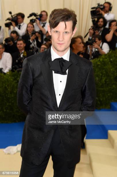 Matt Smith attends the 'Rei Kawakubo/Comme des Garcons Art Of The InBetween' Costume Institute Gala at Metropolitan Museum of Art on May 1 2017 in...
