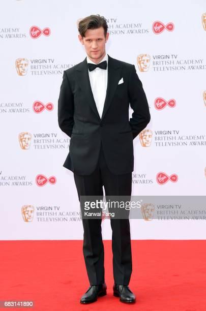 Matt Smith attends the Virgin TV BAFTA Television Awards at The Royal Festival Hall on May 14 2017 in London England