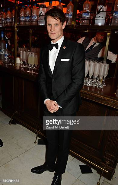 Matt Smith attends The Weinstein Company Entertainment Film Distributors Studiocanal 2016 BAFTA After Party in partnership with BVLGARI GREY GOOSE...