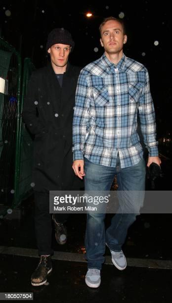 Matt Smith leaving the Box night club on September 13 2013 in London England