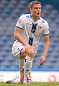 Matt Smith of Leeds United during their Sky Bet Championship match between Leeds United and Birmingham City at Elland Road Stadium on October 20 2013...