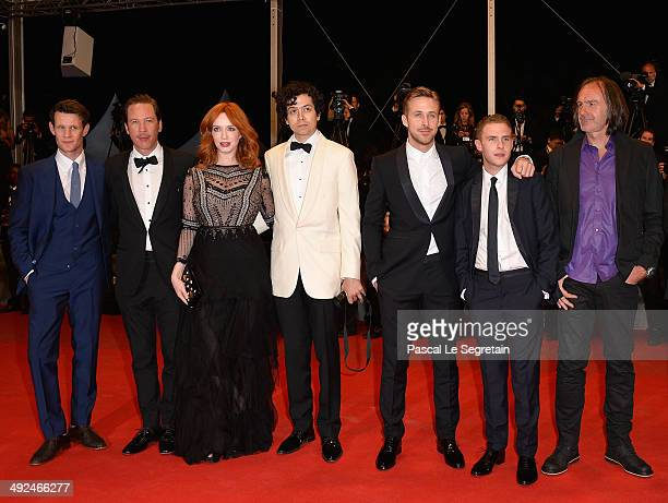 Matt Smith Reda Kateb Christina Hendricks Geoffrey Arend Ryan Gosling Iain De Caestecker and Ben Mendelsohn attend the 'Lost River' premiere during...