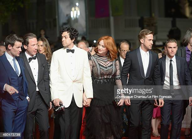 Matt Smith Reda Kateb Geoffrey Arend Christina Hendricks Ryan Gosling and Iain De Caestecker attend the 'Lost River' Premiere during the 67th Annual...