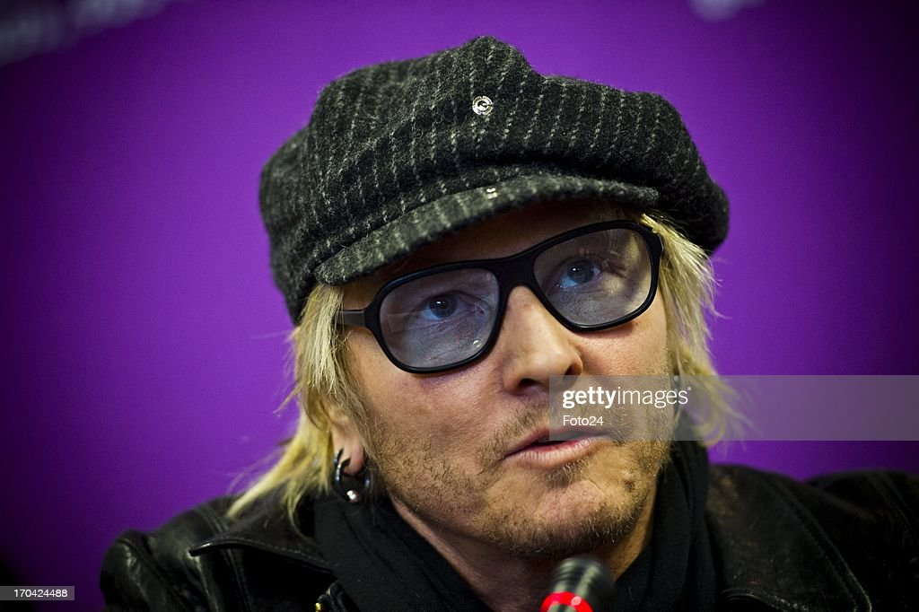 Matt Sorum at the Jacaranda FM studios on June 12, 2013, in Johannesburg, South Africa. Kings of Chaos performed in Cape Town on June 8, 2013 and are set to perform in Johannesburg on June 15 and 16, 2013.