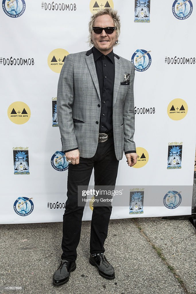 Matt Sorum attends the Adopt the Arts Ribbon-Cutting Ceremony at Westminster Elementary School on February 5, 2015 in Venice, California.