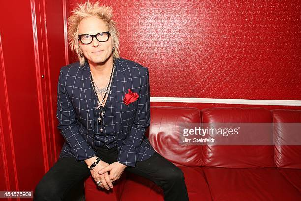 Matt Sorum backstage at the Kings of Chaos benefit concert for Ric O'Barry's Dolphin Project at the Avalon in Hollywood California on November 18 2013