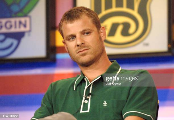 Matt Stone of 'South Park' during Comedy Central TVLand Nick and Nickelodeon Summer 2006 TCA Press Tour Panel at RitzCarlton Hotel in Pasadena...