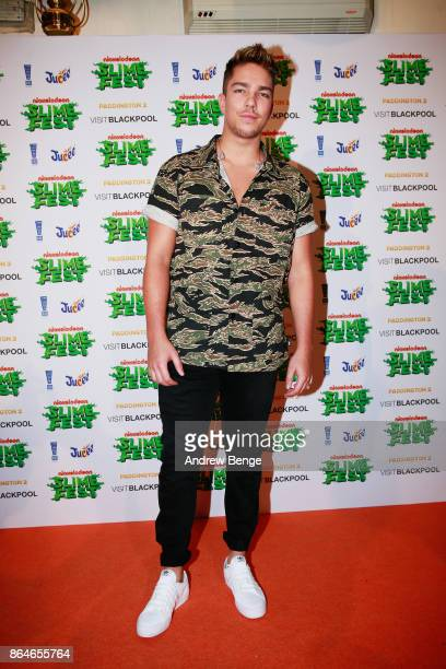 Matt Terry attends Nickelodeons SLIMEFEST Highlights from the slimefilled event will air on Nickelodeon on Friday 3rd November at 5pm in Blackpool...
