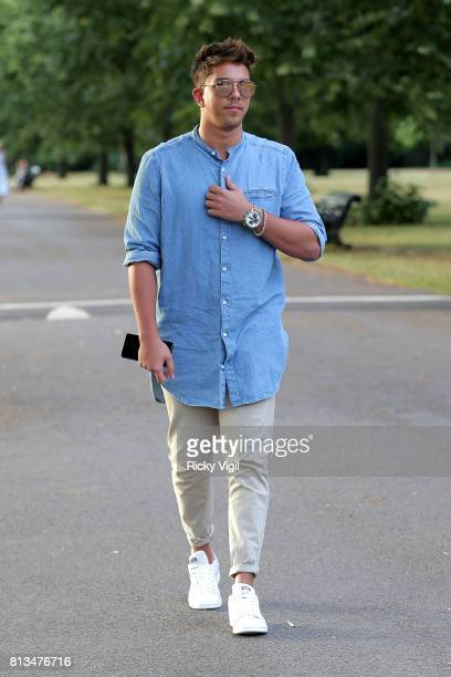 Matt Terry attends Syco summer party at The Orangery Kensington Palace on July 12 2017 in London England