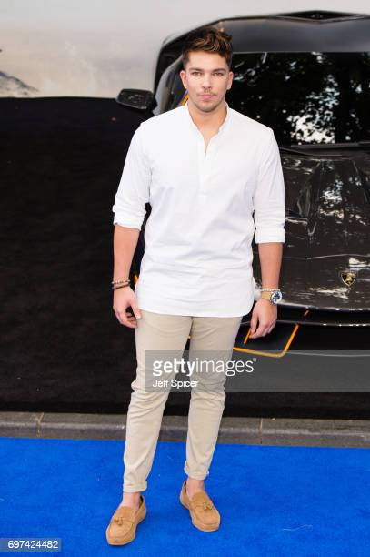 Matt Terry attends the global premiere of 'Transformers The Last Knight' at Cineworld Leicester Square on June 18 2017 in London England