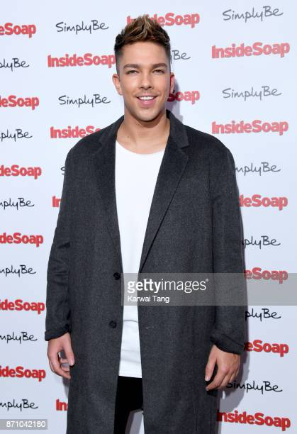 Matt Terry attends the Inside Soap Awards at The Hippodrome on November 6 2017 in London England