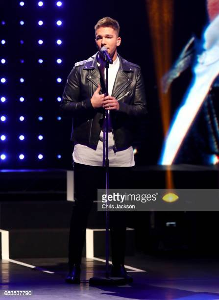 Matt Terry performs on stage during the Prince's Trust Celebrate Success Awards on March 15 2017 in London England