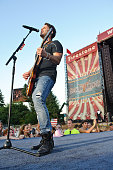 Matt Thomas of Parmalee performs on Day 2 of Country Thunder Wisconsin on July 22 2016 in Twin Lakes Wisconsin