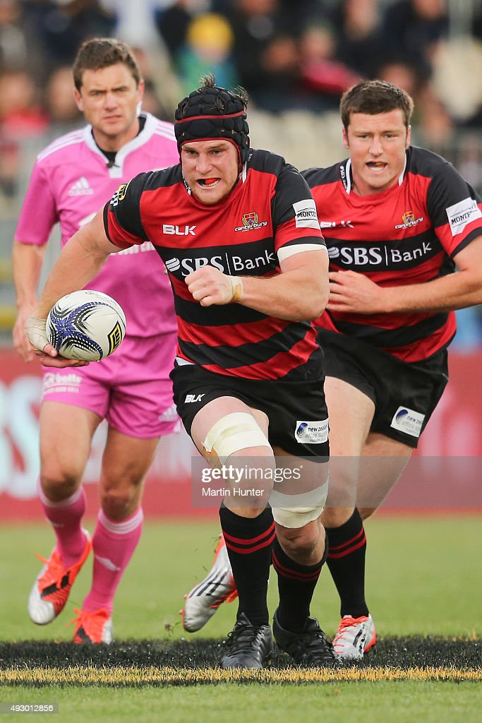 <a gi-track='captionPersonalityLinkClicked' href=/galleries/search?phrase=Matt+Todd&family=editorial&specificpeople=5870233 ng-click='$event.stopPropagation()'>Matt Todd</a> of Canterbury makes a break during the ITM Cup Premiership Semi Final between Canterbury and Taranaki at AMI Stadium on October 17, 2015 in Christchurch, New Zealand.