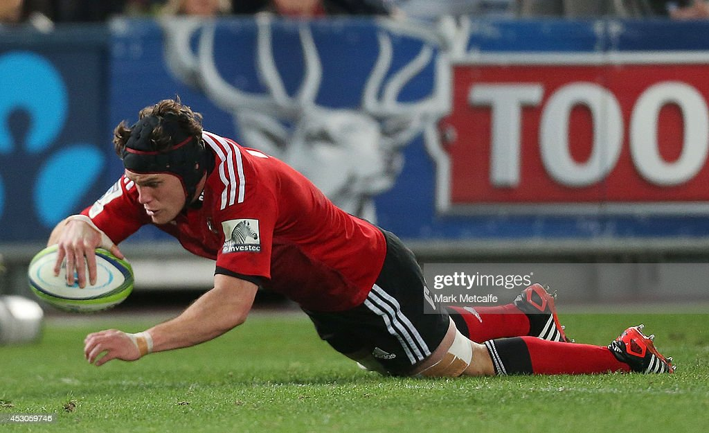 <a gi-track='captionPersonalityLinkClicked' href=/galleries/search?phrase=Matt+Todd&family=editorial&specificpeople=5870233 ng-click='$event.stopPropagation()'>Matt Todd</a> of the Crusaders scores a try during the Super Rugby Grand Final match between the Waratahs and the Crusaders at ANZ Stadium on August 2, 2014 in Sydney, Australia.