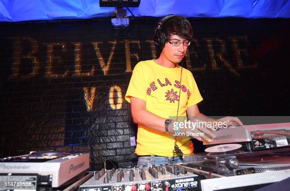 Matt Tong of Bloc Party attends Late Night Rehearsals by Belvedere featuring Bloc Party Does it offend you yeah And Black Kids on July 29 2008 in Los...