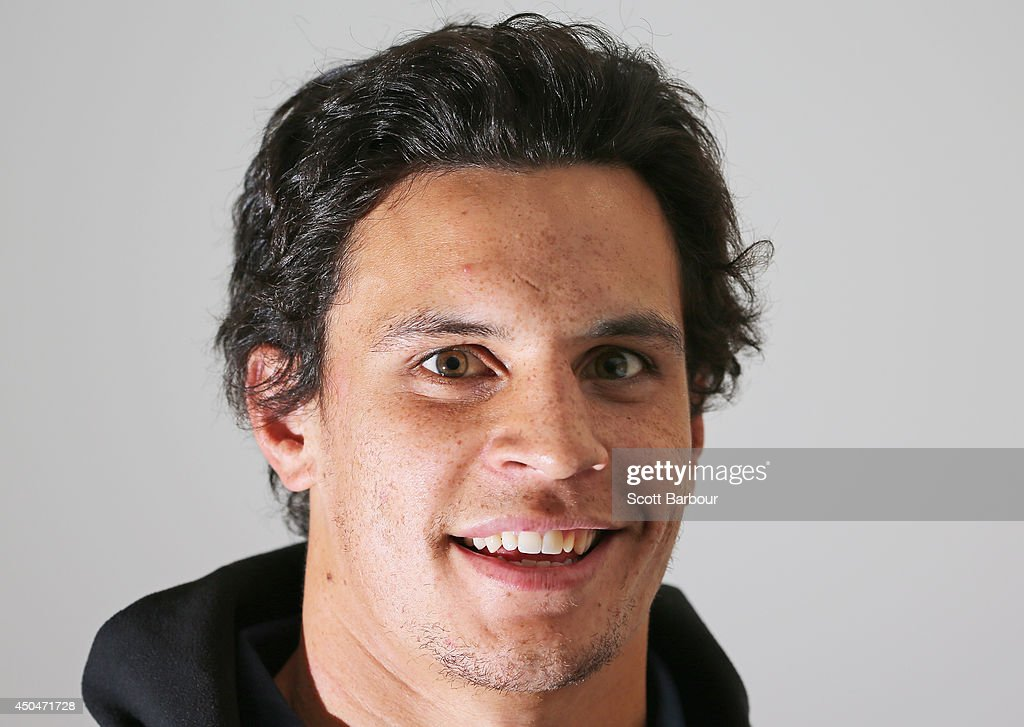 Matt Toomua of the Wallabies poses during an Australian Wallabies media session at Crowne Plaza on June 12 2014 in Melbourne Australia
