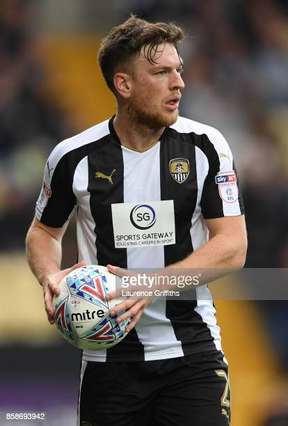 Matt Tootle of Notts County in action during the Sky Bet League Two match between Notts County and Forest Green Rovers at Meadow Lane on October 7...