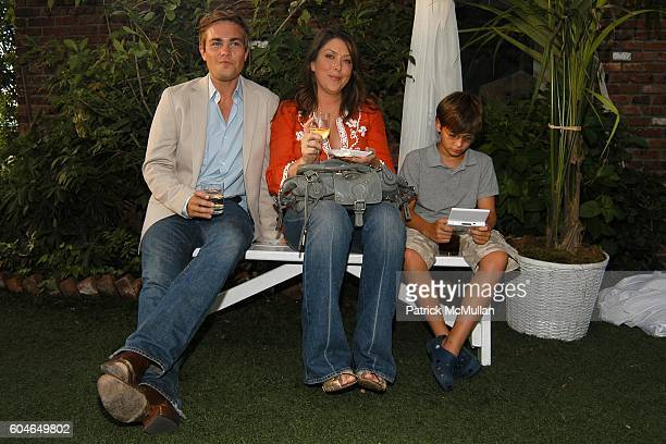 Matt Trainor Cohan Clark and Miles Florence attend MACY'S Culinary Superstars Launch Party at Sky Studio on June 21 2006 in New York City