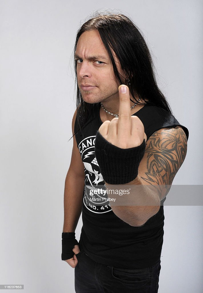 <a gi-track='captionPersonalityLinkClicked' href=/galleries/search?phrase=Matt+Tuck&family=editorial&specificpeople=583699 ng-click='$event.stopPropagation()'>Matt Tuck</a> of Bullet for My Valentine poses for portraits at Festival Hall on 9th September 2010 in Melbourne, Australia.