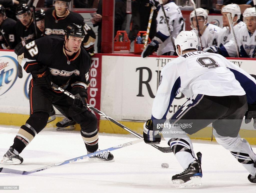 Tampa Bay Lightning v Anaheim Ducks