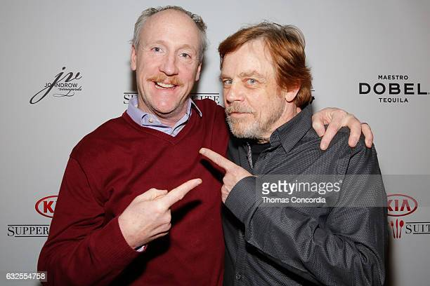 Matt Walsh and Mark Hamill attend the Kia Supper Suite Hosts World Premiere Party For 'Brigsby Bear' on January 23 2017 in Park City Utah