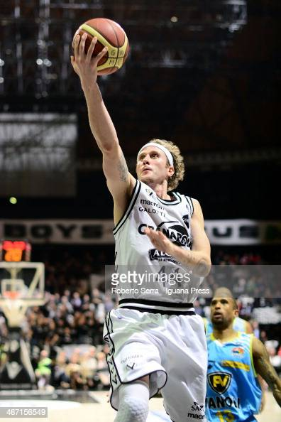 Matt Walsh of Granarolo in action during the LegaBasket Serie A1 match between Granarolo Bologna and Vanoli Cremona at Unipol Arena on January 26...