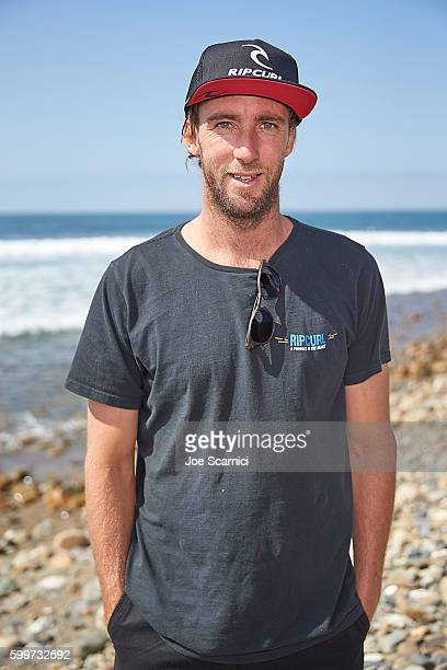 Matt Wilkinson poses for a photo at the 2016 Hurley Pro at Trestles Media Day at San Onofre State Beach on September 6 2016 in Lower Trestles...