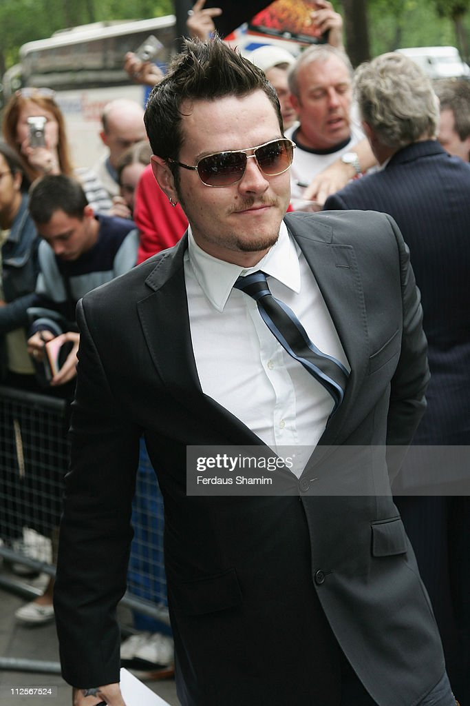 Matt Willis arrives at the the 53rd Ivor Novello Awards held at the Grosvenor House on May 22 2008 in London England
