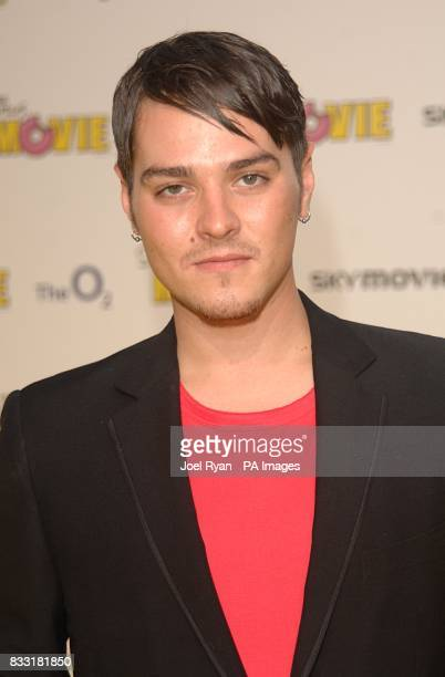 Matt Willis arrives for the UK Premiere of The Simpsons Movie at the Vue Cinema The O2 Peninsula Square London