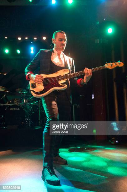Matt Willis of Busted performs on stage at Sala Apolo on March 20 2017 in Barcelona Spain